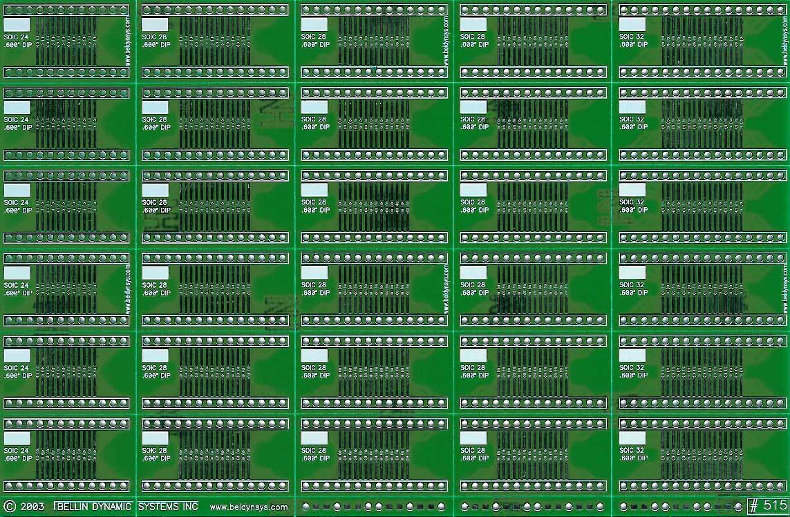 Bellin Dynamic Systems Inc Small Outline Integrated Circuit Soic And Sop To Dip Adapters